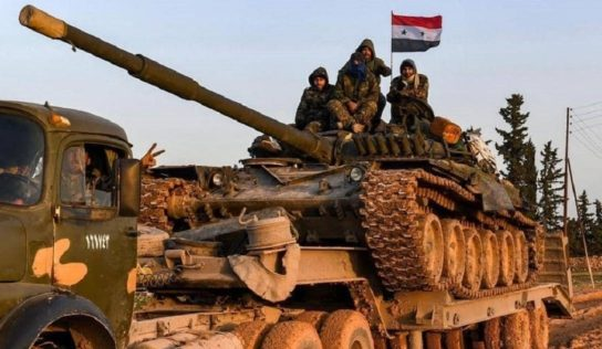 Palestinian-led forces head to eastern Syria to fight ISIS