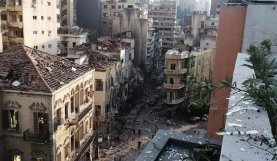New Video Shows Disastrous Aftermath in Beirut Hospital After Huge Blast Ripped Through The City