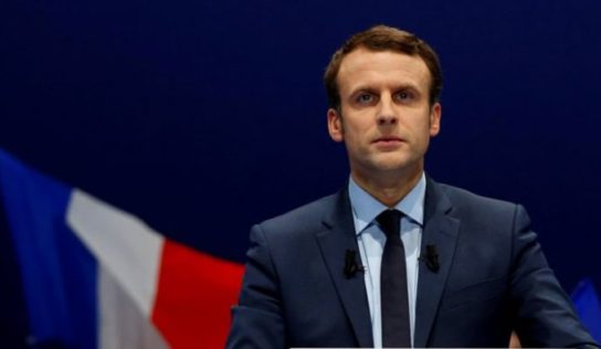 France's Macron meets with Lebanese President Michel Aoun