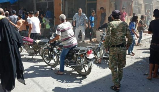 An explosion in Jarablus kills one civilian and injuries seven