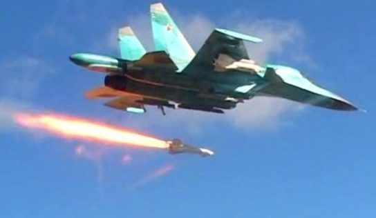 Russian Air Force launches powerful retaliatory strikes over Idlib