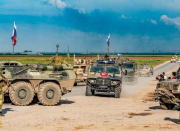 Turkish army come under attack by terrorists group in northwest Syria