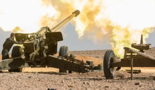 Syrian Army pounds terrorists defenses along Idlib front-lines