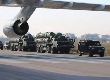 New video shows Russian S-400 in action
