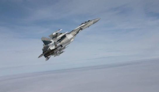 Russian warplanes strike terrorists stronghold near Turkish border