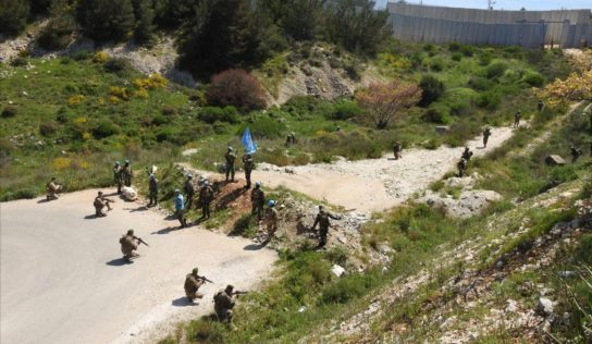 Powerful explosions reported along Israeli-Lebanese border