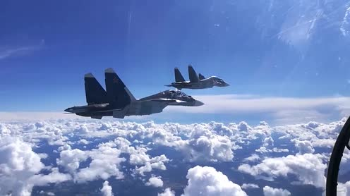Russia's Su-27 scrambled to intercept UK spy plane over Black Sea
