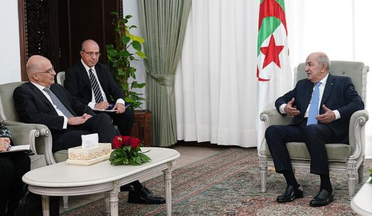 Algerian President blasts Israel normalization deals, calls for Palestinian state