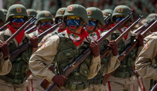 Maduro prepares for conflict in Venezuela