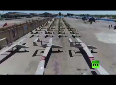 Iran showcases drone power in IRGC ceremony: video