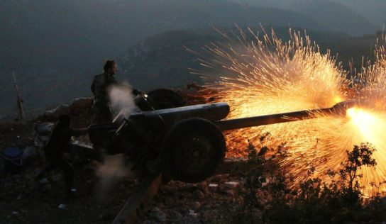 Syrian Army strikes terrorists fortifications in strategic mountain region