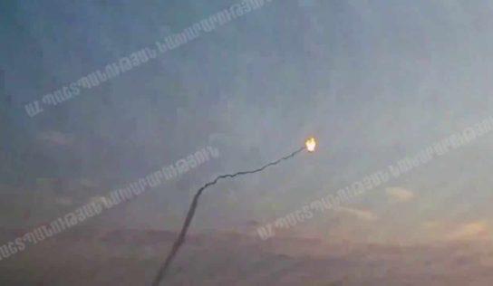 Watch: Armenia scores direct hit on Azerbaijani drone