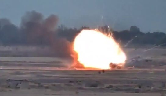 Armenian forces destroy Azerbaijani bases, vehicles in Karabakh: video