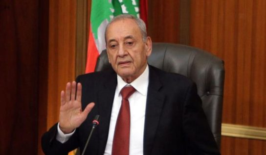 Lebanon's parliament speaker says he opposes way cabinet being formed