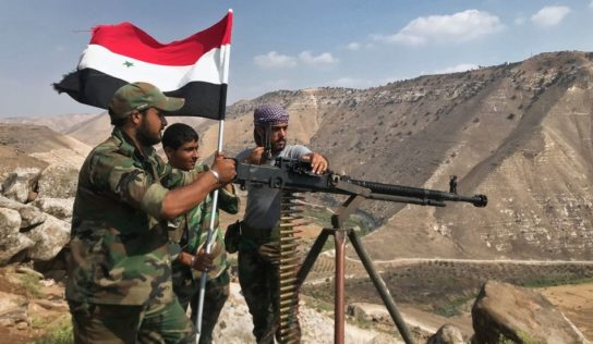 Syrian Army Starts military operation near Golan Heights