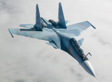 video shows Russian Su-35S jet testing R-37M missile