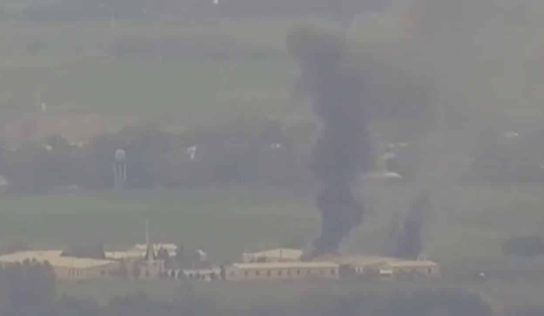Armenian forces destroy multiple Azerbaijani oil depots: video