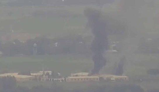 Armenian forces destroy multiple Azerbaijani oil depots: video