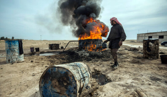 Kurds, stolen oil, and an American domestic terrorist