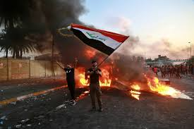 Protests against Iraqi govt continue for 4th consecutive day