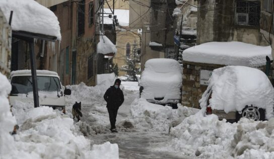 Texas and Syria suffer freezing temperatures and electricity outages