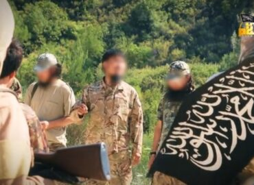 the Turkistan Islamic Party under the Syrian army radar