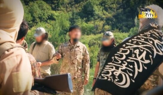 the Turkistan Islamic Party under the Syrian army radar