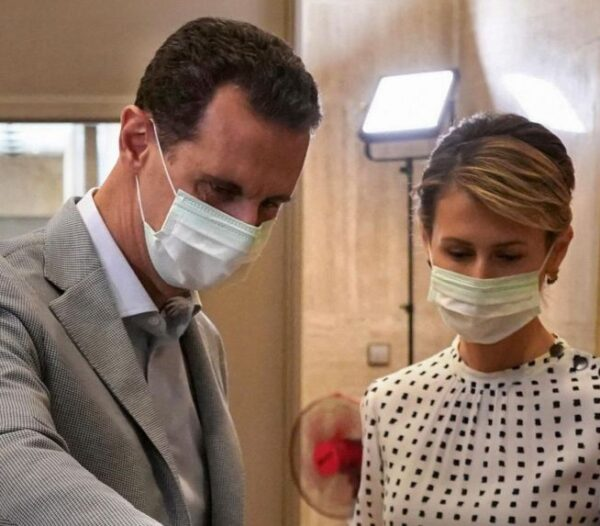 Syrian President Assad, wife test positive for COVID-19, both in good health and stable condition