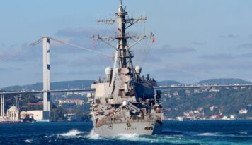 "U.S. Warships to Enter Black Sea in ""Significant Signal"" to Russia Over Ukraine"