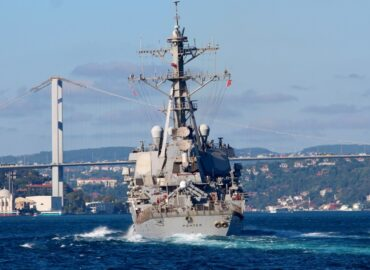 """U.S. Warships to Enter Black Sea in """"Significant Signal"""" to Russia Over Ukraine"""