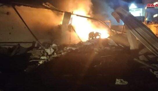 Apartheid Israel attacks Palestinian Refugee Camp in Syria
