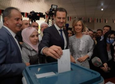 Syrians reject the US 'regime change' and re-elect President Assad