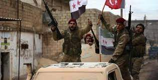 Turkish preparations to transport a batch of Syrian militants to Afghanistan.