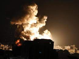 Video: Israel Conducts Airstrikes Against 'Hamas Sites' in Gaza Strip
