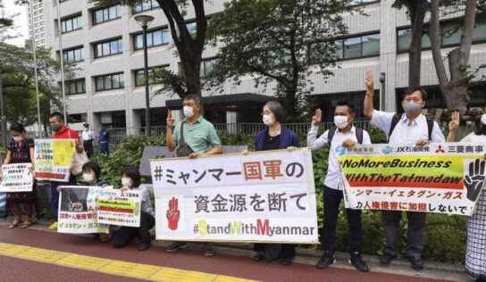 Rights groups urge Japan to stop junta-linked real state project in Myanmar