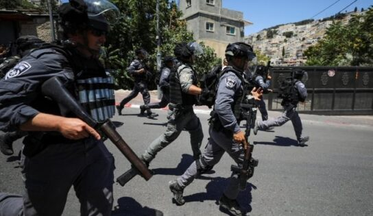 7 Palestinians Injured in West Bank Confrontations with Israeli forces