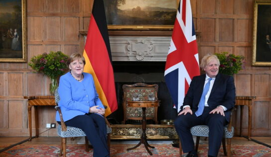 Auf wiedersehen, Frau Merkel… you will not be missed by many of us in Britain