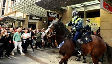 'Filthy, disgusting & selfish': Australian leaders blast anti-lockdown protesters, unleash 'strike force' to track them down