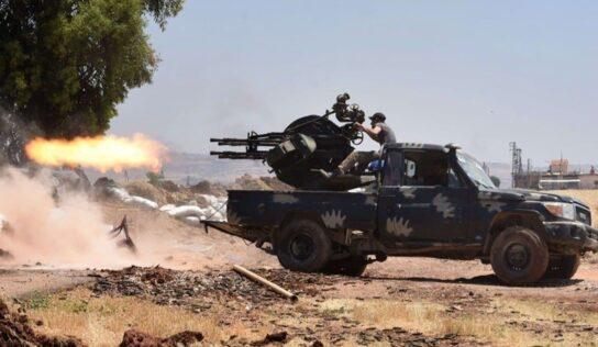 "Syrian Army Targets Armed Groups in ""Daraa al-Balad"""