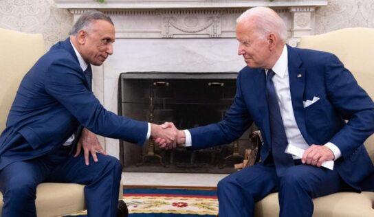 White House: Biden, Al-Kadhimi Agree on Continued Security Partnership
