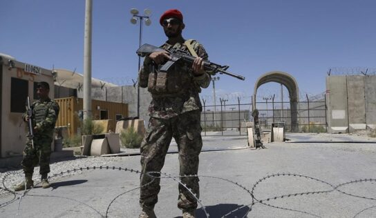More Than 1,000 Afghan Soldiers Flee to Tajikistan