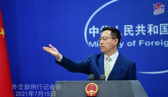 US needs to take concrete actions, lift unilateral Iran sanctions if it seeks JCPOA return: China