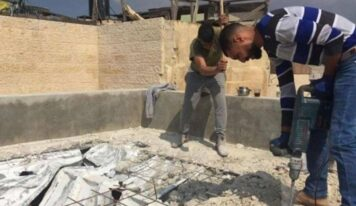 Israeli Occupation Forces Palestinian to Demolish Own Home in Al-Quds