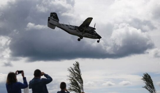 Missing Plane Found in Russia