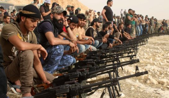 Deraa suffers terrorist occupation again