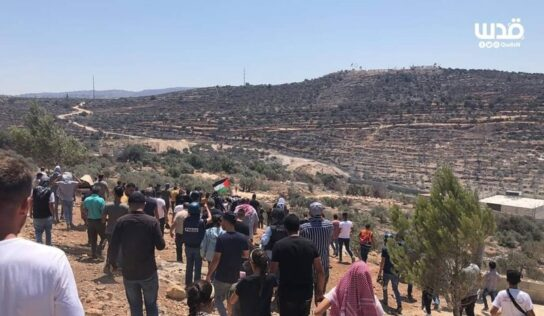 Palestinians Confront Israeli Occupation Forces in Beita