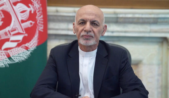 Afghan embassy in Tajikistan demands Interpol ARREST exiled president Ghani over 'treasury theft'