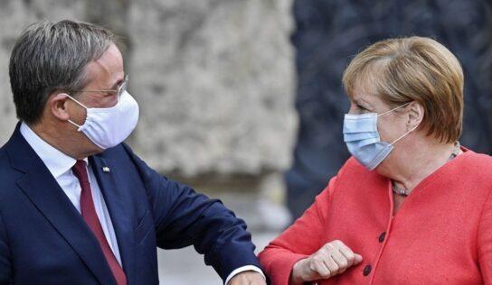 Merkel Endorses Laschet for Chancellor