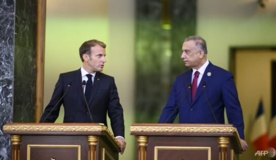 Macron orchestrates Baghdad summit excluding Syria