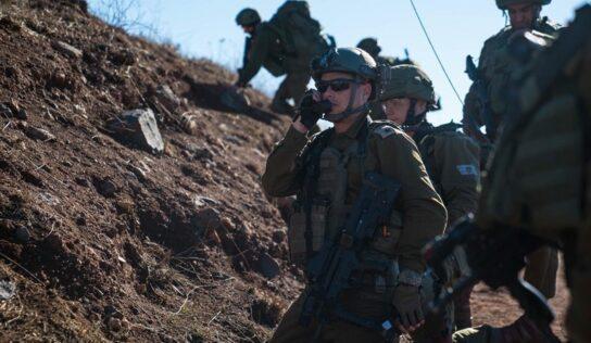 Israeli Occupation Forces Start Surprise Drills on Northern Border